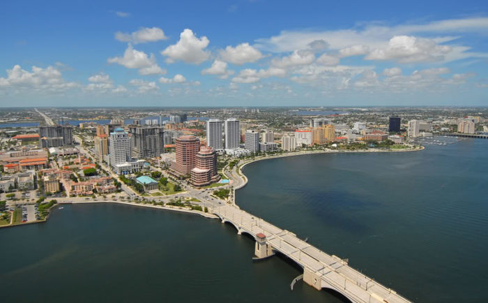 West Palm Beach, FL white gold cuban link chains